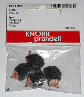 4 ricci miniature per tegole minimondi Knorr Prandell