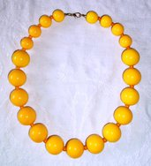 Collana: Girocollo perle grandi