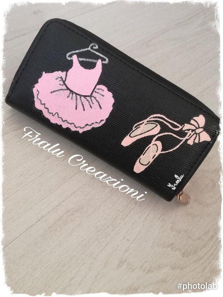 Portafoglio personalizzato tema danza