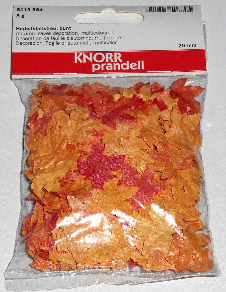 Decorazioni foglie cadute in miniatura Knorr Prandell
