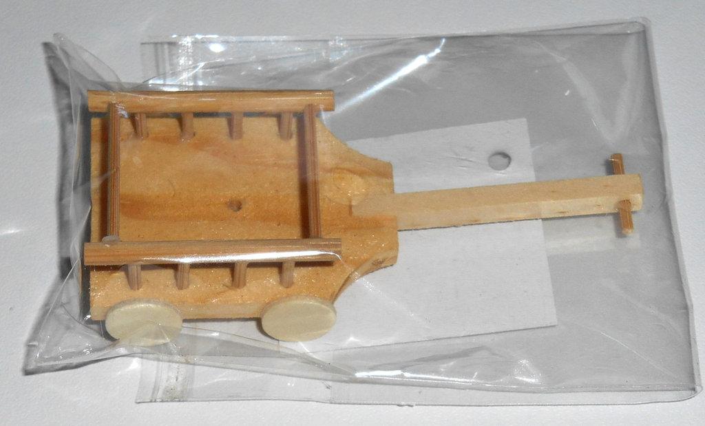 Carretto in miniatura in legno - Rayher