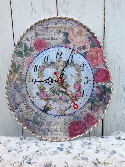 Orologio da parete artigianale