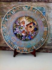 Orologio artigianale da parete