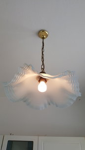 Lampadario in vetro di Murano vintage