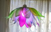 lampadario fiore loto armonia di colori