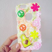 cover iphone peace and love style