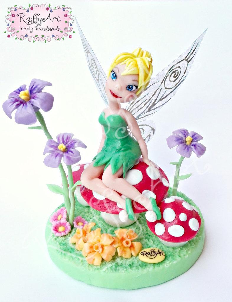 "Cake topper ""Festa tra i fiori"""