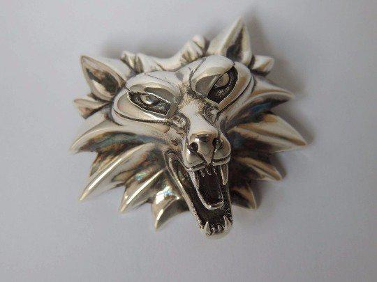 Medaglione del Witcher - Scuola del Lupo