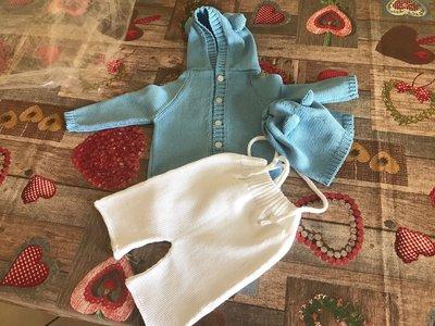 completino neonato in cotone