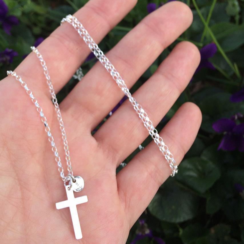 Collana lunga con Croce