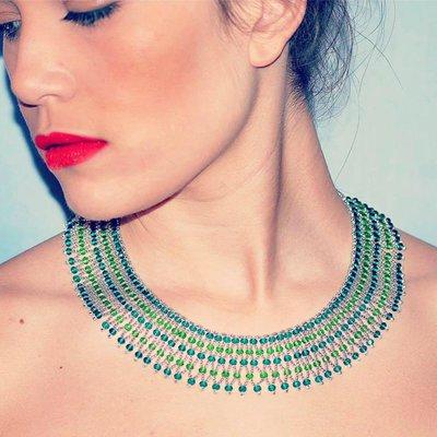 Collana stile egiziana