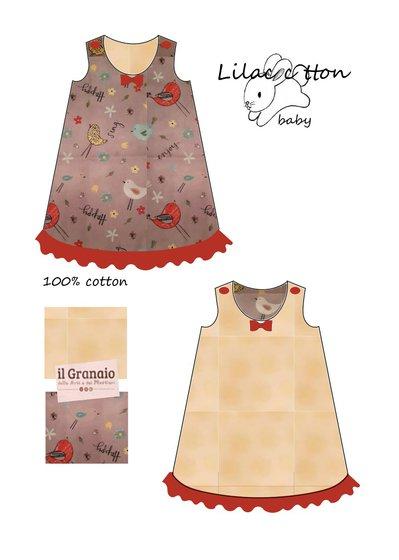 cartamodello vestitino svasato
