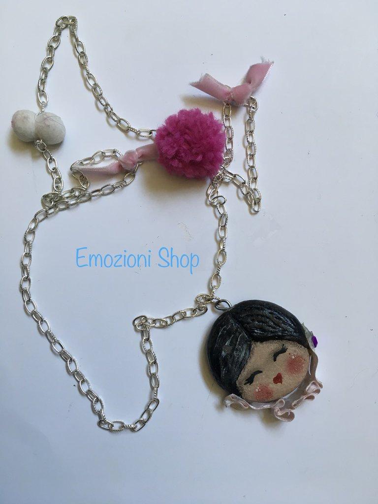 Collana bambolina handmade