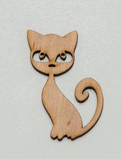 Elemento decorativo _ gatto