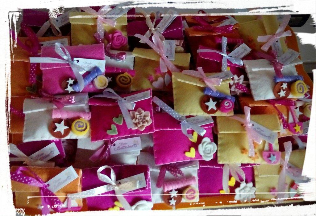 Bustina porta confetti - bomboniere handmade