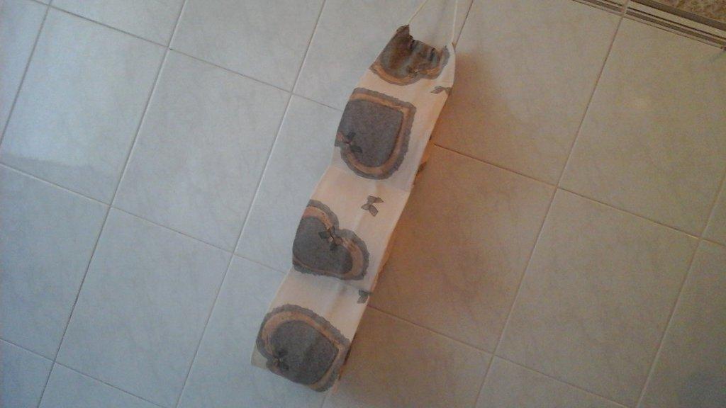 Porta rotoli cartaigenica shabby per tre rotoli