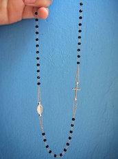 Collana rosario girocollo