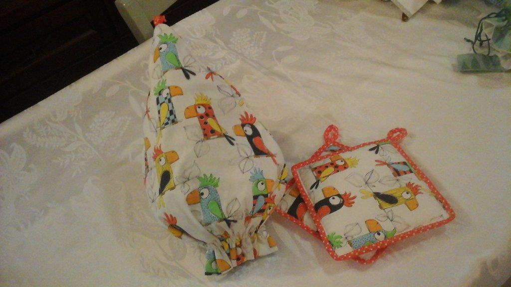 idea regalo set presine e porta sacchetti