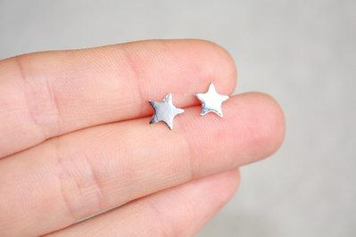 Orecchini argento a stella