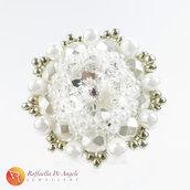 Anello swarovski bianco Beatrice 05