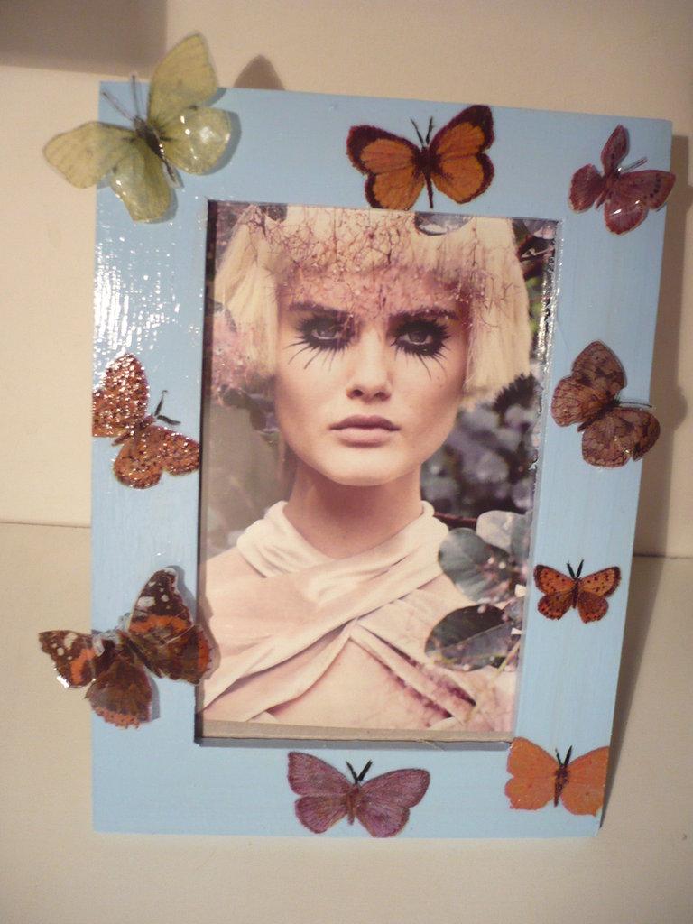 portafoto farfalle sospese