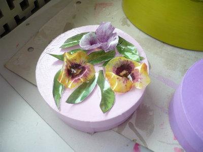scatola fiori sospesi