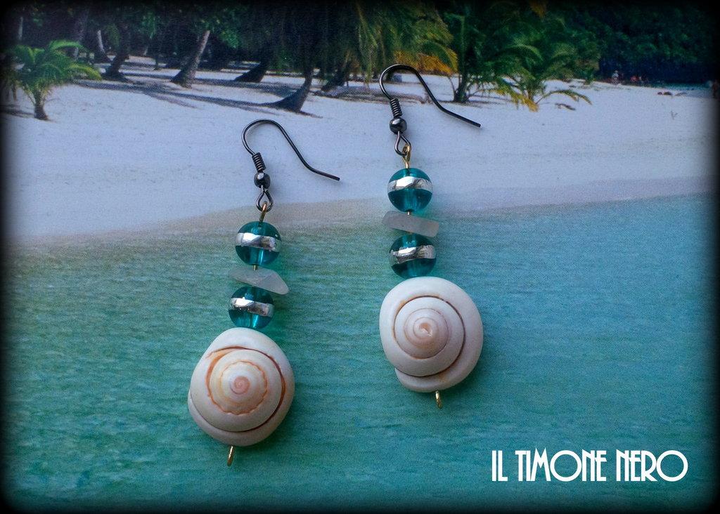 "Orecchini ""Shell On The Beach"""