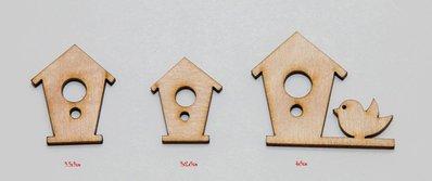 Set di casette degli uccellini decorativi