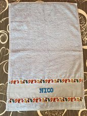 Asciugamano scuola materna
