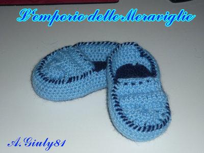 scarpette a pantofoline baby.