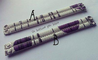 Bracciali/Braccialetti con parti di materiale antiscivolo