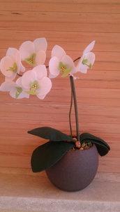 Orchidea in pannolenci