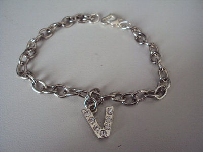 Simple Letter Bracelet