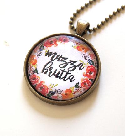 Collana floreale Mazza Brutta