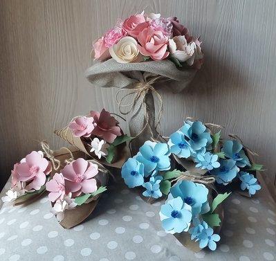Set Bouquet e Conetti - ORDINE PERSONALIZZATO