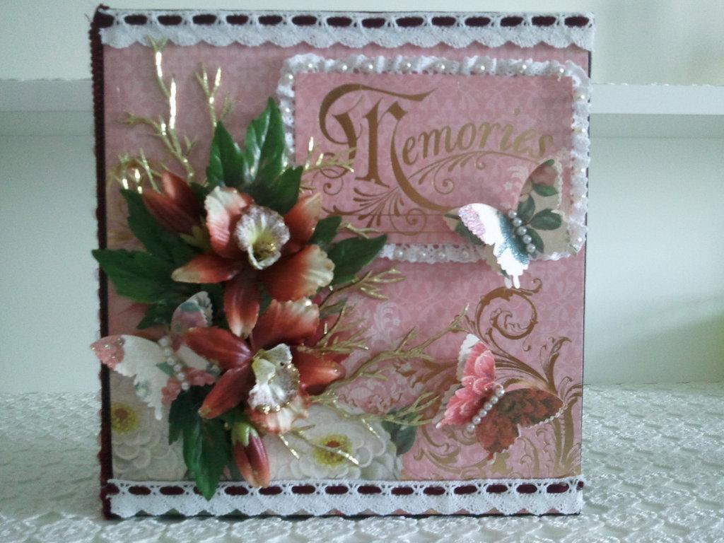 """Album fotografico """"Memories"""""""
