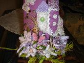 Tegolina decorativa fiori