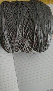 cordino thai effetto seta grigio scuro