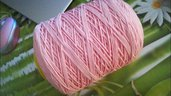 cordino thai effetto seta  rosa baby