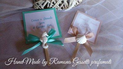 Ventaglio personalizzato per Cerimonie,matrimonio,battesimi,comunione