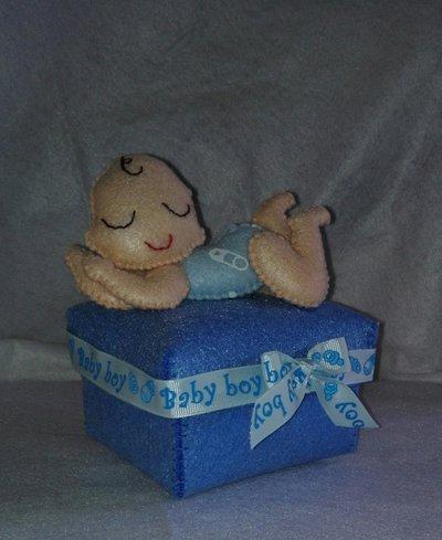 Bomboniera scatola bimbo