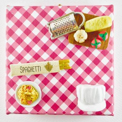 QUADRICETTA - Spaghetti al pomodoro