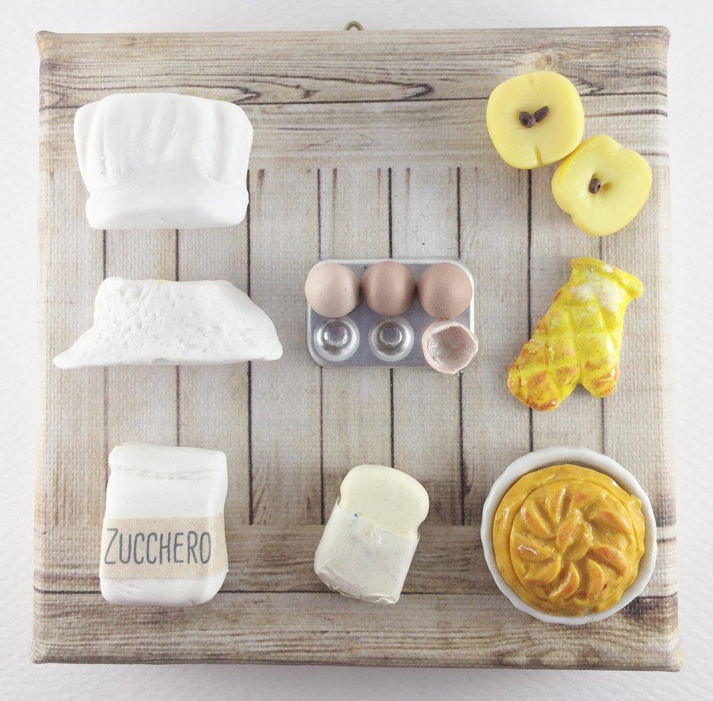 QUADRICETTA  - Torta di mele