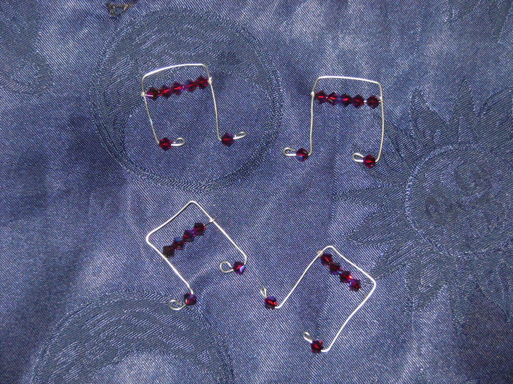chiave di sol e note musicali charms