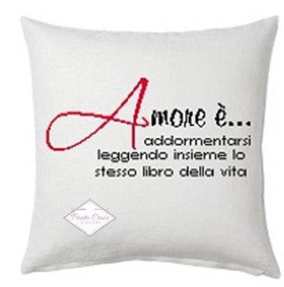 SCHEMA PUNTO CROCE L'AMORE E'...
