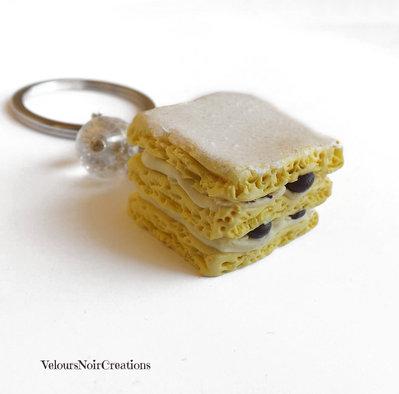 Portachiavi dolce diplomatico zuppetta napoletana