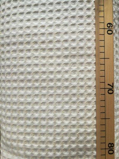 Tessuto 50x150 cm nido d'ape grande cotone e lino