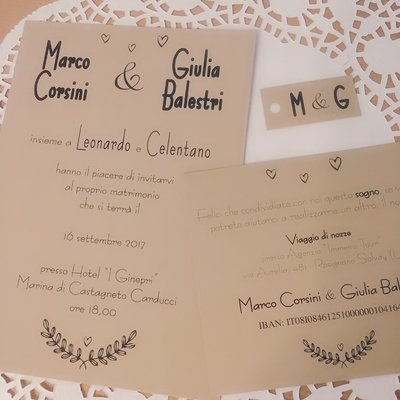 Partecipazioni Inviti Matrimonio.Partecipazioni Nozze Inviti Matrimonio