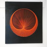 Quadro Orange string art