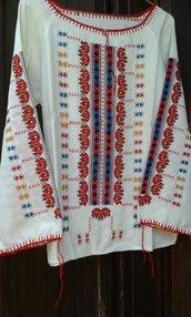 camicia donna misto lino usato 1